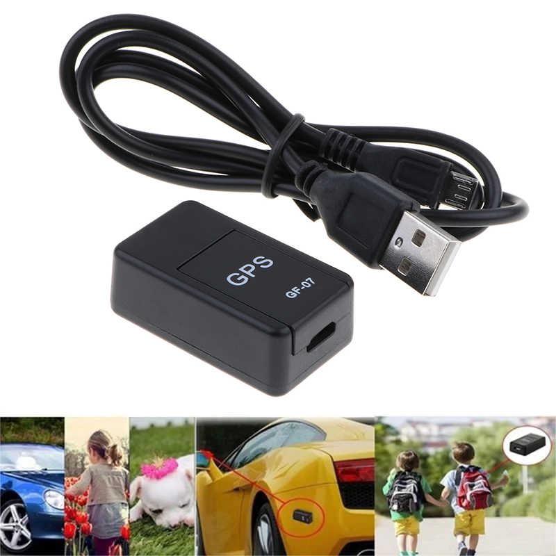 Mini GPS Tracker ซ่อนแม่เหล็ก Real Time GPS Locator Anti-Theft Tracker GPS Anti-Lost การบันทึกติดตามอุปกรณ์เสียง Contro