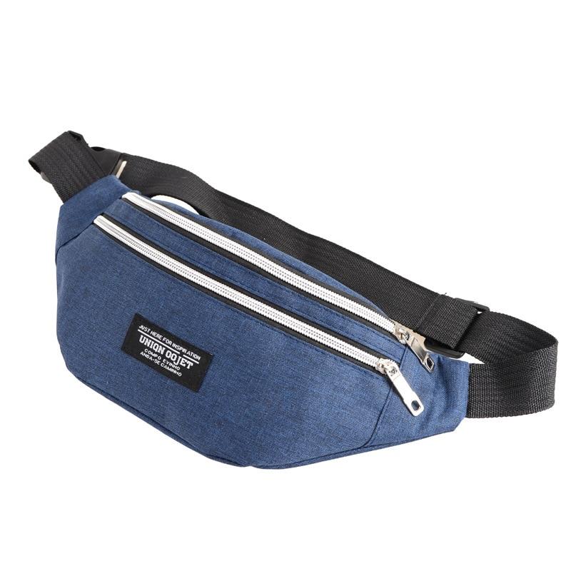 Ainvoev 2020 Fashion Women Waist Bag Colorful Unisex Waistbag Mobile Phone Zipper Pouch Packs Belt
