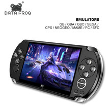 Data Kikker 5 Inch Draagbare Handheld Video Game Console Ondersteuning Voor Gb/Cps/Fc/Mame Bouwen In 3200 + Games Retro Arcade Game Console