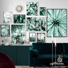 Wall Art Canvas Painting Cactus Aloe Leaf Tiger Piran Window Step Plants Nordic Posters And Prints Wall Pictures For Living Room piran mt1000