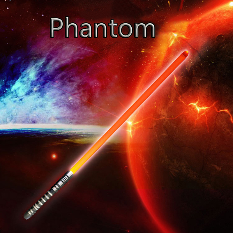 New Types Phantom 16 Color-changing RGB Lightsaber Cosplay Lightsaber With Light Saber Alloy Skywalker Sword Boy Birthday Gift