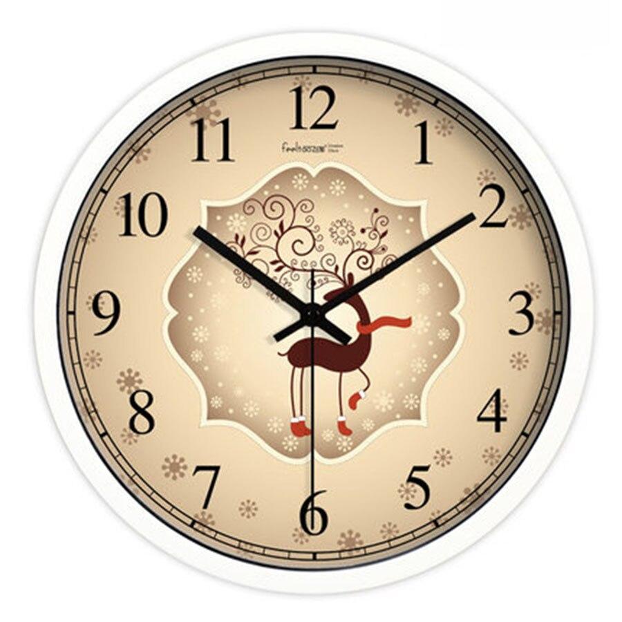 Rétro métal horloge murale nordique muet numérique horloge murale salon grand Relojes De Pared idée cadeau montre murale décor à la maison BB50WC