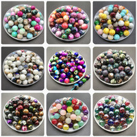 6 8 10mm Multicolor Glass Beads For Jewelry making DIY Earrings Bracelet Necklace