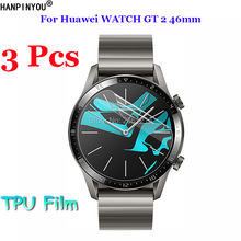 3Pcs For HUAWEI WATCH GT 2 46mm Sport/Classic/Elite Edition Full Soft TPU Protec