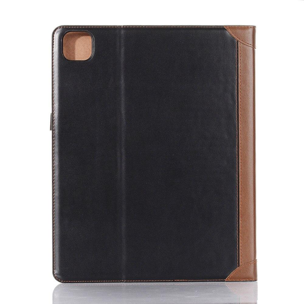3 Blue PU Leather Case for iPad Pro 12 9 Case 2020 2018 Fold Book Smart Folio for