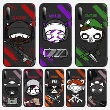 Game rainbow six siege Printing Drawing Phone Case For Samsung S Note20 10 2020 S5 21 30 ultra plus A81 Cover Fundas Coque