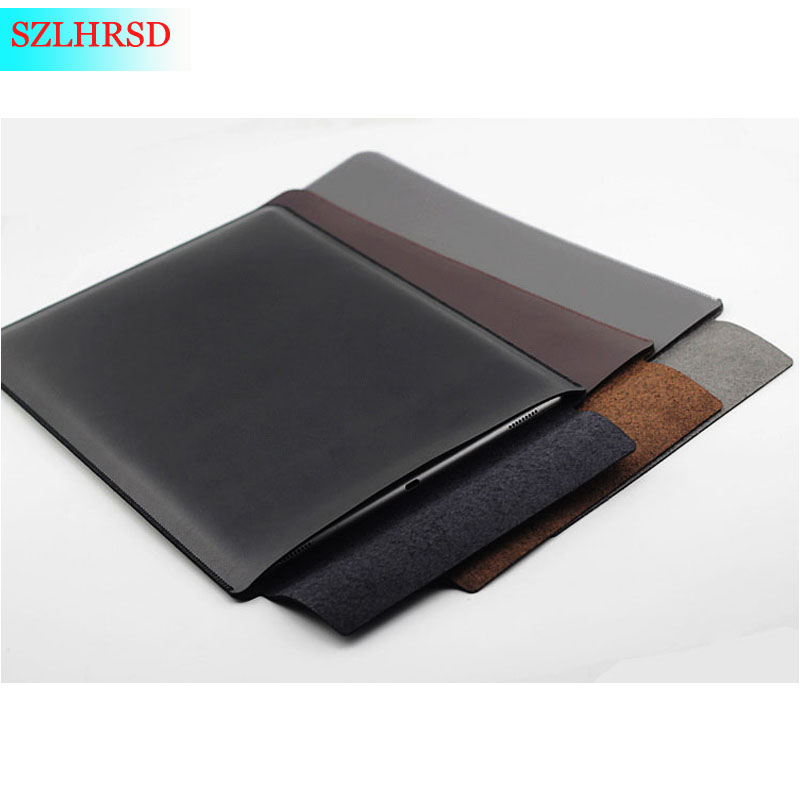 """New 2019 ultra-thin super slim sleeve pouch cover,microfiber leather laptop sleeve case for Huawei Honor MagicBook Pro 16.1""""inch"""