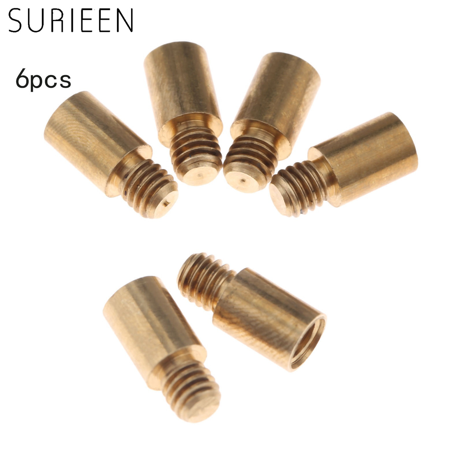 SURIEEN 6pcs Professional 1.5 Grams Dart Weight Add Accentuator Tools Accessories With 2BA Thread 13mm Length Dart Replacements