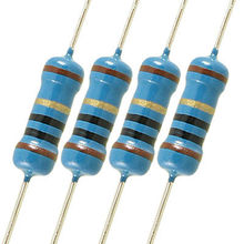 500 шт. 10 Ом 1% 1/2W осевой привести металлического пленочного резистора