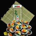 Sushi Vorhang Kochen Zubehör Sushi Rollen Roller Hand Maker Sushi Werkzeuge Onigiri Reis Rollen Bambus Nicht-stick