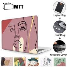 Чехол для ноутбука mtt macbook pro air 11 12 13 15 16 дюймов