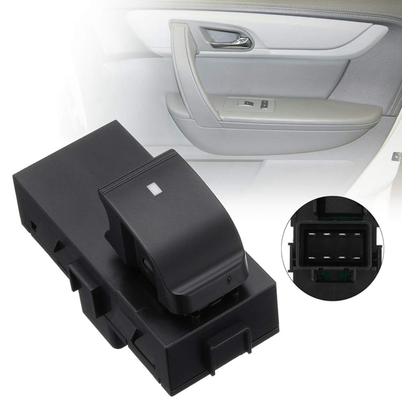 Power Window Control Switch Front Passenger Rear Front Right, Left Or Right For GMC Acadia Chevy Silverado 25877776 22864837 228