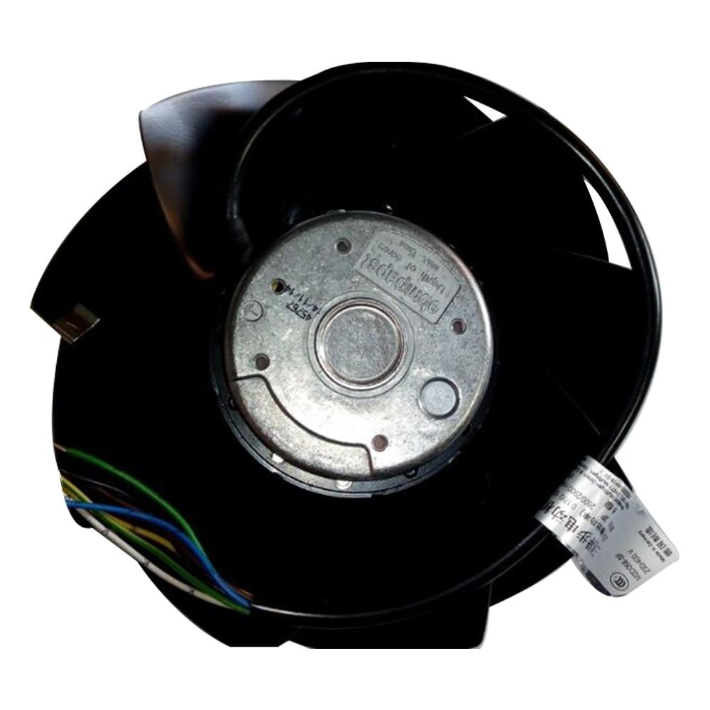 Ebmpapst A2D200-AH18-01 Cooling Fan, Size 195 X 73mm 230/400 V AC, Air Flow 940m3/h, 3150rpm
