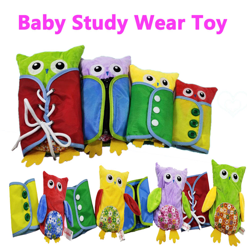 Montessori Dress Frames Wear Clothes Study Children Kid Early Learning Educational Toys For Baby Preschool Birthday Gift Toy