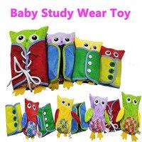 Montessori Kleid hohe tech Tragen kleidung studie kinder kind früh lernen Pädagogisches spielzeug für baby Vorschul geburtstag geschenk spielzeug