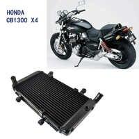 LOPOR de aluminio portátil de refrigeración refrigerador radiador del motor para Honda CB1300 X-4 CB 1300 X-4 1998-2003