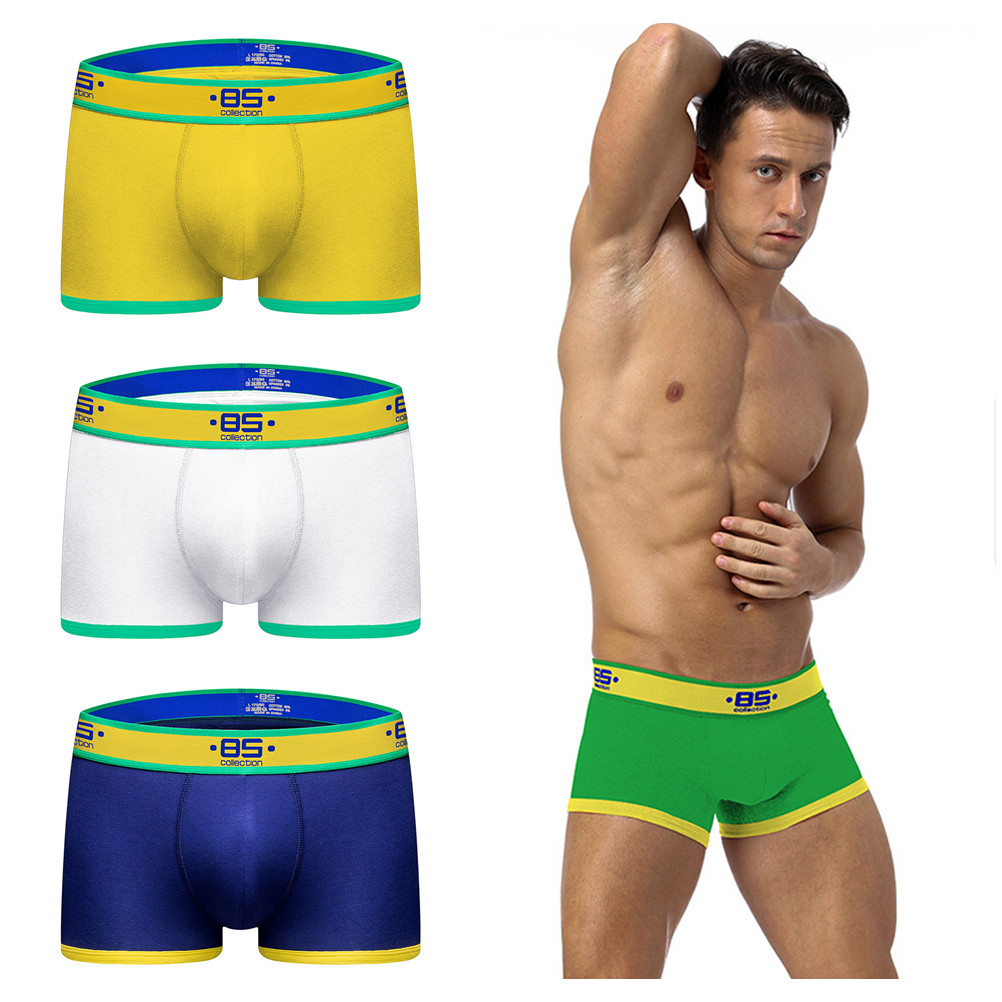 Underwear Boxer Lingerie Sexy Cotton Mens New 1PCS Bikini Man