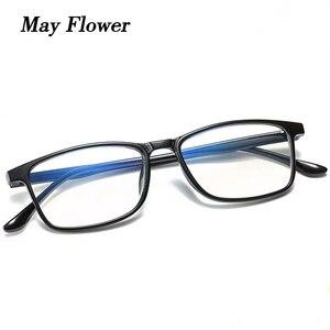 Может цветок классическая Сверхлегкий TR90 очки для чтения для Для мужчин и Для женщин Для мужчин HD анти-синий, аксессуары для глаз, солнцезащ...