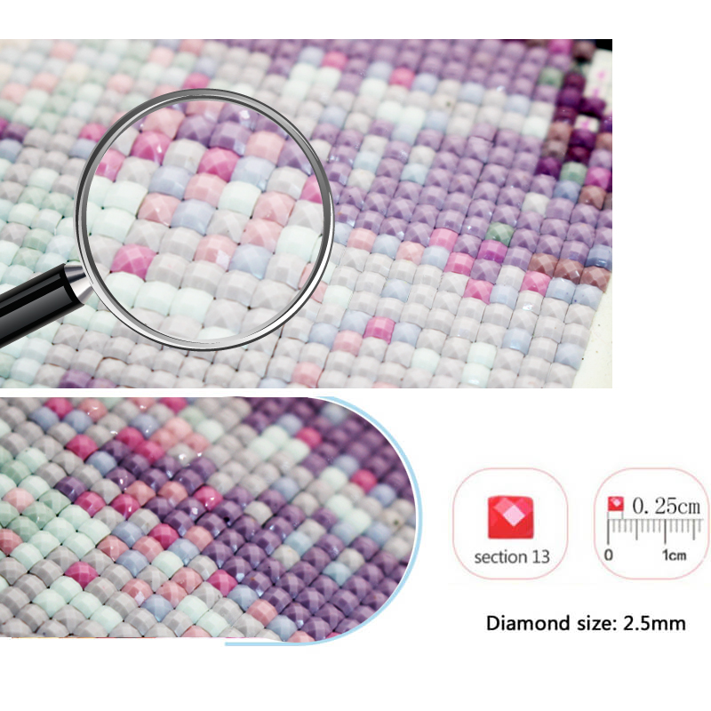 Square Round Drill Photo Custom Diamond Painting Cross Stitch Full Picture DIY Mosaic Gift Diamond Embroidery Home Decoration in Diamond Painting Cross Stitch from Home Garden