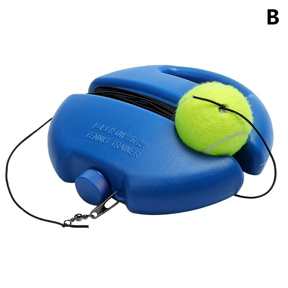 Heavy Duty Tennis Training Tool Practice Self-Study Rebound Tennis Partner Sparring Device Exercise Tennis Ball Sport  With Ball