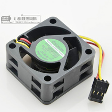 цена на 2 pieces SUNON KDE1204PKVX MS.M.B400 12V 1.6W server cooling fan 4020 40x40x20mm 4cm