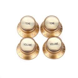 Musiclily Pro Императорский дюймовый размер Верхняя шляпа колокольчик отражатель 2 громкость 2 тона набор регуляторов для США Les Paul SG электрическа...