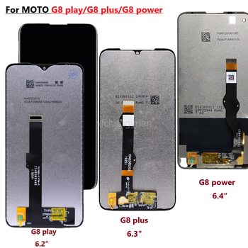 g8 Original For Motorola G8 Play G8 Plus G8 Power LCD Display Touch Screen XT2019 Xt2015 Digiziter Assembly For MOTO G8Play G8plus