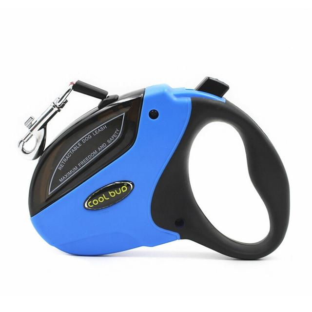 Deluxe Walking Roulette Retractable Pull Rope for Small Medium Large Dogs