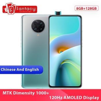 Перейти на Алиэкспресс и купить Новая китайская версия Xiaomi Redmi K30 ультра 8GB 128GB смартфон МТК Dimensity 1000 + Octa Core 6,67 дюйм120 Гц активно-матричные осид дисплеем