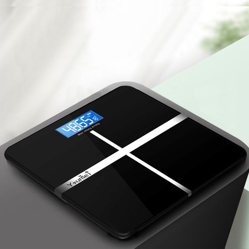 Floor <font><b>Scales</b></font> Scientific Smart <font><b>Scales</b></font> Electronic LCD <font><b>Body</b></font> <font><b>Weight</b></font> Bathroom Balance or