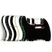 Новая левша палка гвардии гитара палка защита царапины Пластина для Tele Стиль гитары, черный или белый