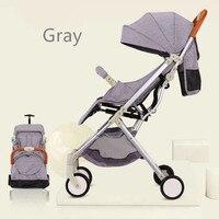 5.4Kg New Model Lightweight Baby Strollers Portable Folding Luxury Baby Stroller 3 in 1 Hot Mom Pink Stroller Yoya Plus 3