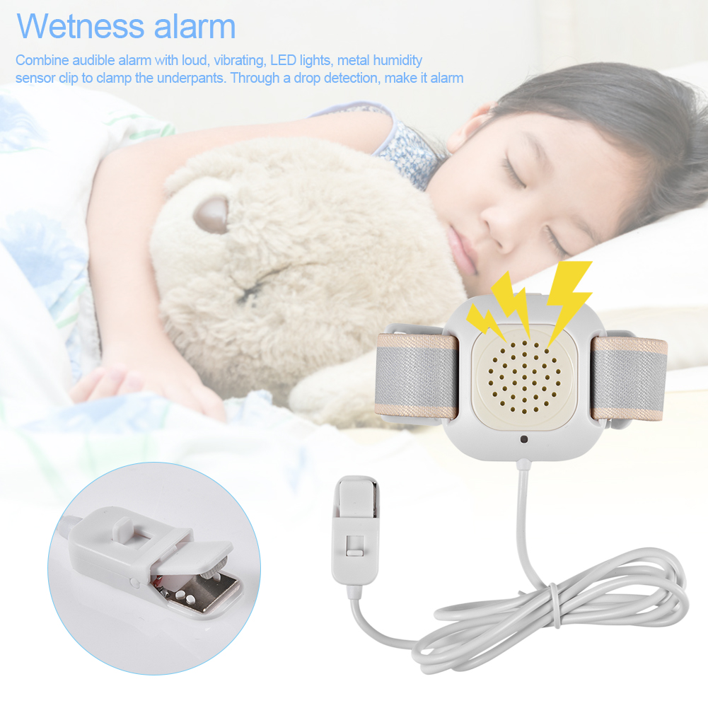 NEW Professional Wetness Alarm Baby Bedwetting Sensor Alarm For Baby Toddler Adults Potty Training Wet Reminder Tools trendy