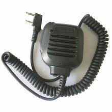 2PIN микрофон динамик KMC-45 для Kenwood Baofeng Puxing Quansheng Wouxun Hytera HYT двухстороннее радио