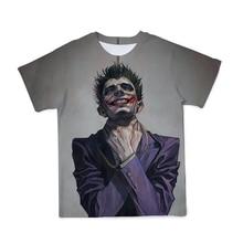Рубашка оверсайз с 3d принтом персонажа аниме Модная и удобная