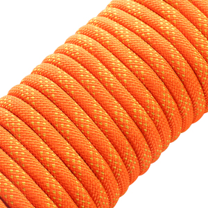 Image 3 - 10.5mm Outdoor Climbing Rope 10 50M Rock Ice Climbing Equipment High Strength Survival Paracord Safety Rope Climbing Accessory