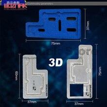Mechaniker 3D-Xplus Nuten Positionierung kleber entfernen zinn pflanzung plattform Für IPHONE X XS XSMAX neueste 3D stahl mesh neueste