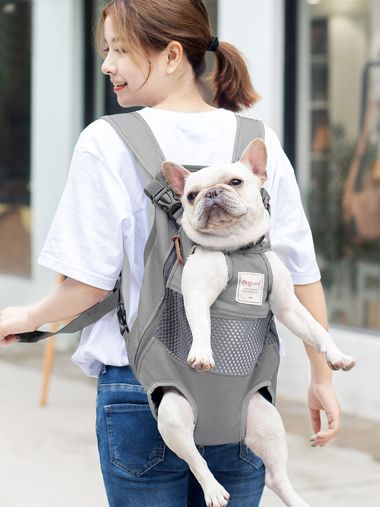 Pet-Backpack-Carrier Puppy-Mochila Dog-Bag Bulldog Dogs Carrying Animals Travel Small