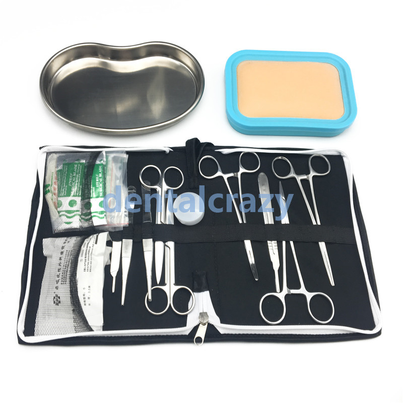 Science Aids Training Surgical Instrument Tool Kit/surgical Suture Package Kits Set For Student