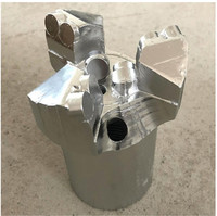 Water well Rock Geology Coalfield Diamond Pdc Three wing Concave Composite Piece Coreless Water Bit/Opener Hole Saws