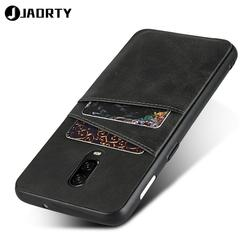 На Алиэкспресс купить чехол для смартфона mobile phone case cover for oneplus 6t leather silicone shockproof case with card pocket