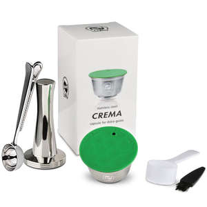 COFFEE-FILTERS Dolce Gusto Nescafe Baskets Refillable Capsule-Pod Stainless-Steel Icafilas