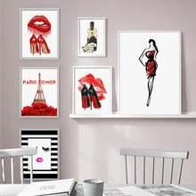 Скандинавский домашний декор роспись Париж модный плакат hd