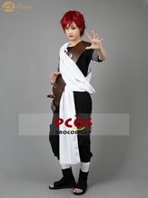 Procosplay handsome Gaara cosplay left forehead caved love Gaara cosplay costume Naruto part 1 Cosplay Costume mp000121