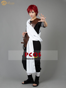 Image 1 - Procosplay handsome Gaara cosplay left forehead caved love Gaara cosplay costume Naruto part 1 Cosplay Costume mp000121