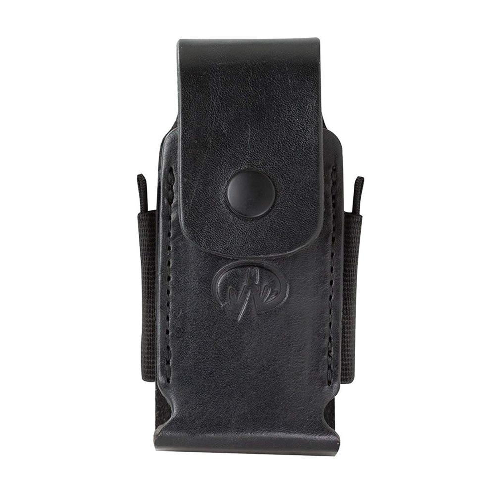 "LEATHERMAN - Premium Leather Sheath With Pockets For Multitools, Fits 4.5""/4"" Tools - Black"