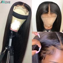 Allove 몽골어 곱슬 곱슬 머리 묶음 레미 인간의 머리카락 3 묶음 레이스 클로저 8 28 인치 헤어 위브 번들