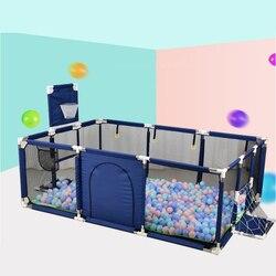 Big Children Playpen Kids Safety Barrier Baby Playpen For Child Pool Balls Newborn Fence Playpen For Baby Pool