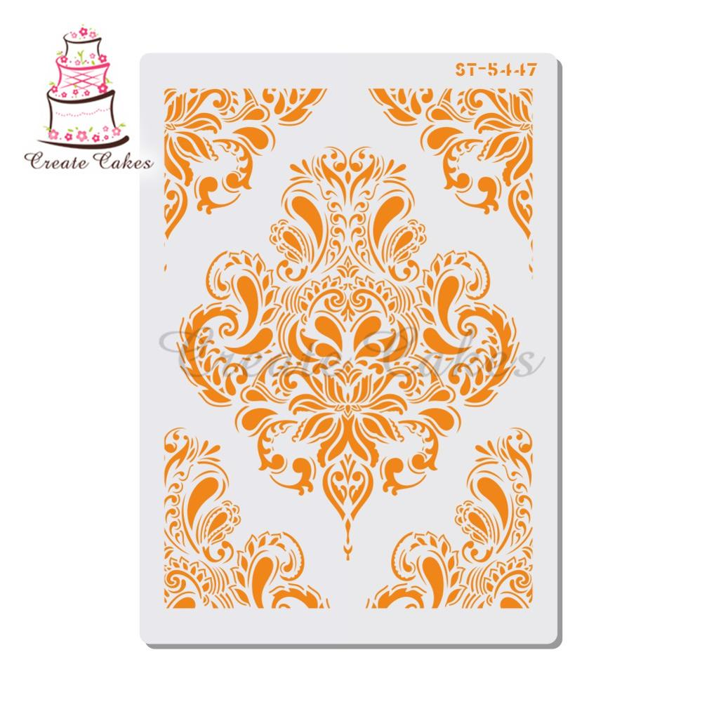 Flowers Stencil For Walls Painting Scrapbooking Stamp Album Decorative Embossing DIY Craft Paper Card Flower Template