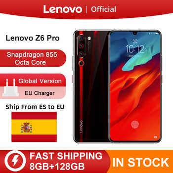 "Originele Global Versie Lenovo Z6 Pro Snapdragon 855 Octa Core 6.39 ""Fhd Display Smartphone Achter 48MP Quad Camera 'S"